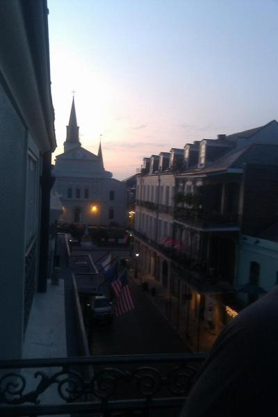 Morning light over Jackson Square in New Orleans--my second favorite city!
